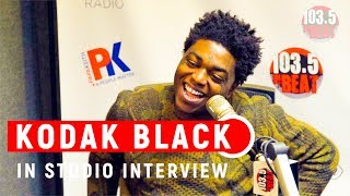 Kodak Black Talks