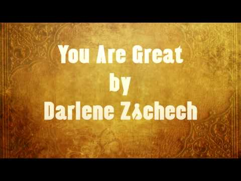 You Are Great (Lyric Video) Darlene Zschech