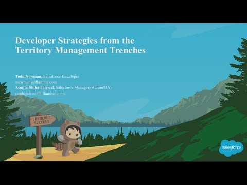 Developer Strategies From the Territory Management Trenches
