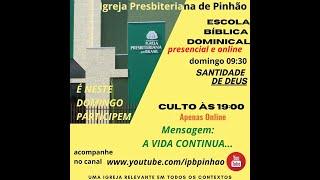 EBD -  CULTO DE DOMINGO