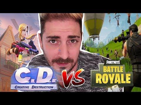 FORTNITE MORIRA' ?! EPIC GAMES FAI QUALCOSA! [Creative Destruction]