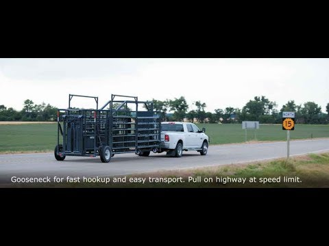 Rawhide Portable Corral System By John McDonald Of Abilene, KS