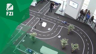 Das FZI-Team KACADU bei der Open Challenge des Audi Autonomous Driving Cup 2016