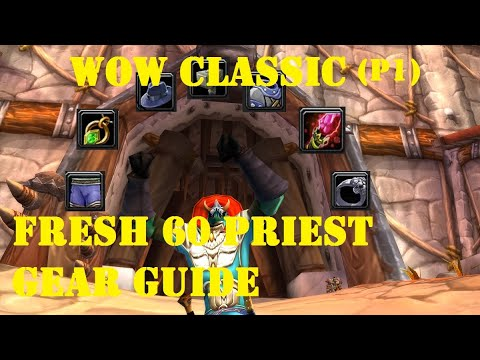 Gear Your Priest FAST! WoW Classic Phase 1 Healing Gear Guide!