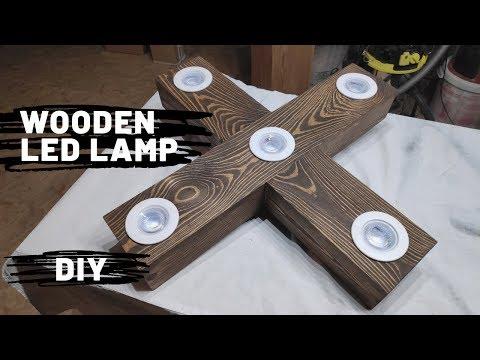 Wooden LED Lamp - DIY