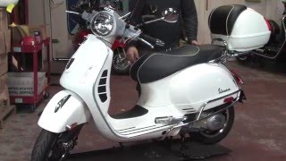 2015 Vespa Super Accessorized for Two-Up Touring