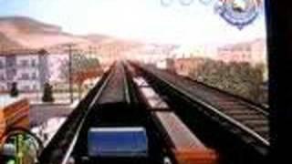Microsoft XBOX 360 Saint's Row - hearse on the train tracks