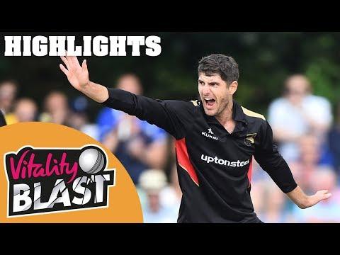 Leicestershire v Birmingham |  7-18! Ackermann Sets World Record | Vitality Blast 2019 - Highlights