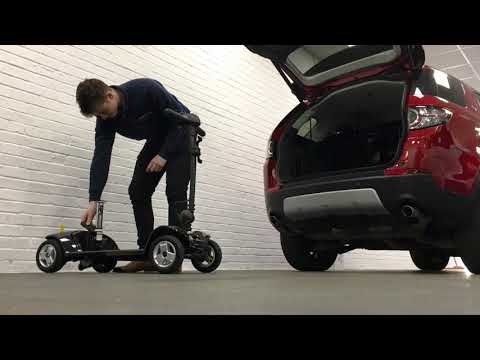Pride Apex Lite Mobility Scooter Review Breakdown Travel Scooter