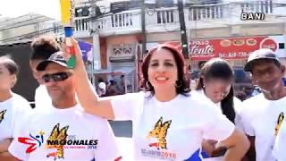 Videoclip Antorcha Juegos Nacionales 2018 Recorrido Baní
