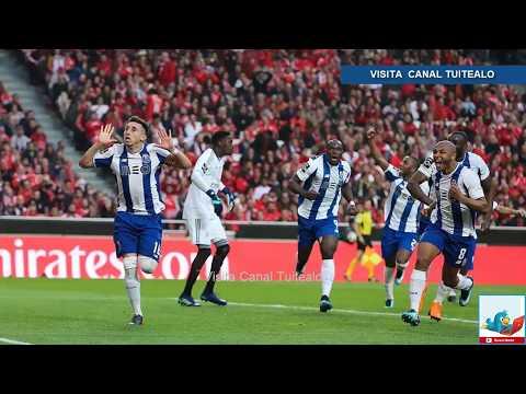 Con golazo de Héctor Herrera Porto vence 1-0 al Benfica de Raúl Jiménez y se acerca al título Video