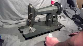 Serviced Rare Vintage Sears Roebuck Kenmore 117.231 Treadle Sewing Machine