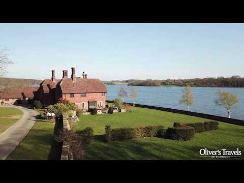 Waterside House by Drone | The South East | UK & Ireland | Oliver's Travels