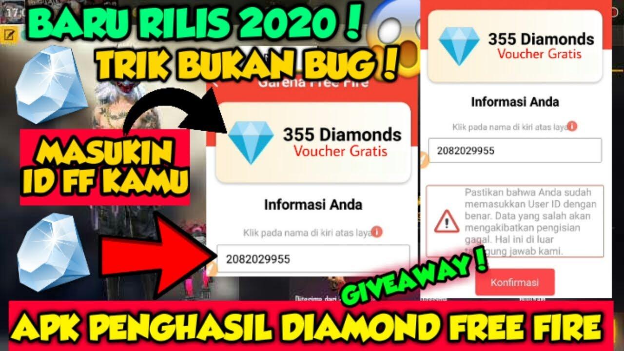 💎Diamond FF Gratis Resmi Garena Free Fire - Apk Penghasil Diamond FF Tercepat 2020