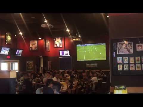 Lionel Messi Last Minute Winning Goal vs Real Madrid Fans Reaction  BWW's L.A.