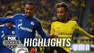 Borussia Dortmund vs. FC Schalke 04 | 2015–16 Bundesliga Highlights