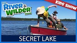 KIDS GET PIKE FISHING LESSON ON SECRET LAKE! | KIDS TV