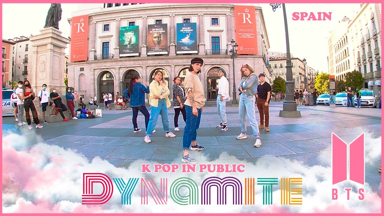 [K POP IN PUBLIC SPAIN] BTS - (방탄소년단) 'DYNAMITE' | NBF Dance Cover