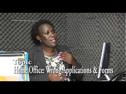 Tunde Alabi's VOICE: UK Home Office Wrong Application