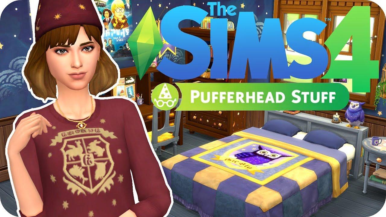 NEW HARRY POTTER THEMED STUFF PACK ⚡️ Sims 4 Pufferhead Stuff