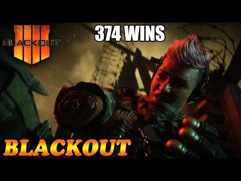 New Years Slaying! 374 Wins! 29% W/L // CoD Blackout // Call of duty Blackout // CoD // PS4 thumbnail