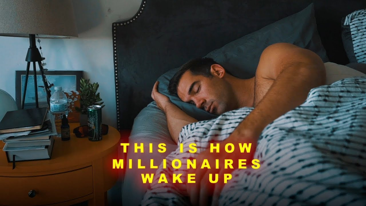 The MILLIONAIRE MORNING ROUTINE - Success Habits Of Highly Effective People | Lewis Howes