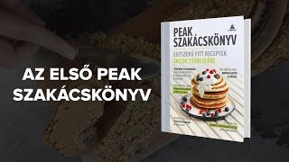 Itt az első Peak Szakácskönyv!