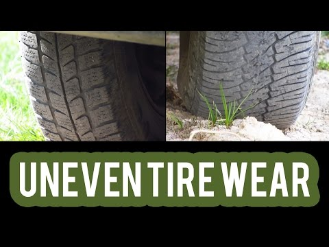 Checking for Uneven Tire Wear on a Car