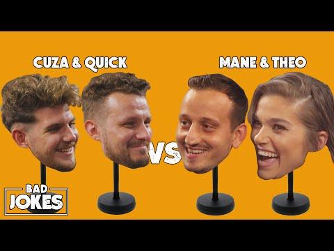 Theo Rose & Mane Voicu 🆚 Cuza & Quick   BAD JOKES 🌑 Noaptea Tarziu