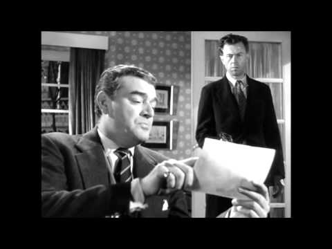 The Intruder 1953  Merton confronts Ginger Edwards