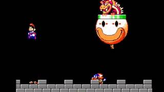 Super Mario World (Demo) - Super Mario World - NES - Bowser Battle - User video