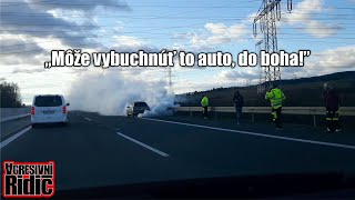 Car on fire, 1 of 10, Women behind the wheel, Aggressive driver, Dashcam
