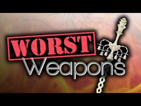 Top 10 Worst Weapons in Dark Souls