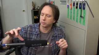 Review of RØDE NTG2 Directional Shotgun Microphone