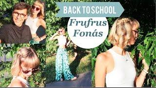 Vissza a suliba haj | Back to School | Frufrus fonás | Évnyitó frizura RÖVID hajon | Bencze Máté