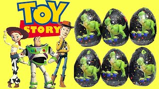 Huevos Kinder Toy Story, Buzz, Jessie, Woody.Toy Story Surprise Eggs