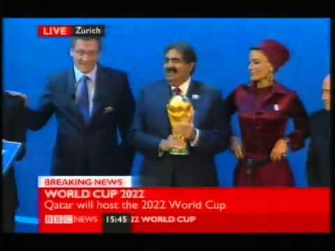 Qatar Wins 2022 World Cup Bid 2022 World Cup Results Announcement