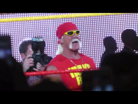 Hulk Hogan Appreciation Night at MSG WWE Live (entrances from Hogan, NWO and Ric Flair)