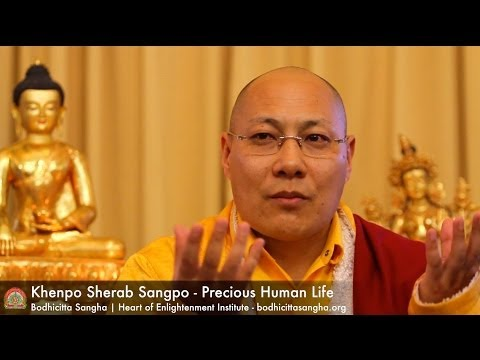 Precious Human Life - Teachings on the Outer Preliminaries by Khenpo Sherab Sangpo