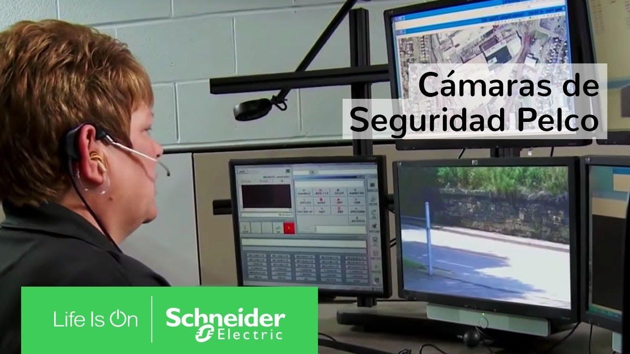 Circuito Cerrado : Así funcionan las cámaras de seguridad pelco en un circuito