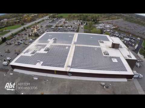 Aerial Shot of Abt Electronic's New Solar Panel Array