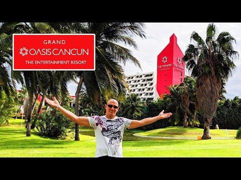 Grand Oasis Cancun 2018 (4K) Walkthrough Tour