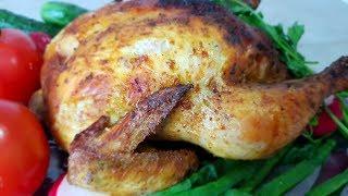 Домашняя курица по - цыгански в духовке. Запечённая курица в духовке. Gipsy cuisine.