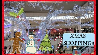 CHRISTMAS SHOPPING!! Metro Centre, Gateshead 20th December 2018 Vlogmas