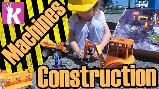 Игровой Набор Строительные Машины Play Set Construction Machines