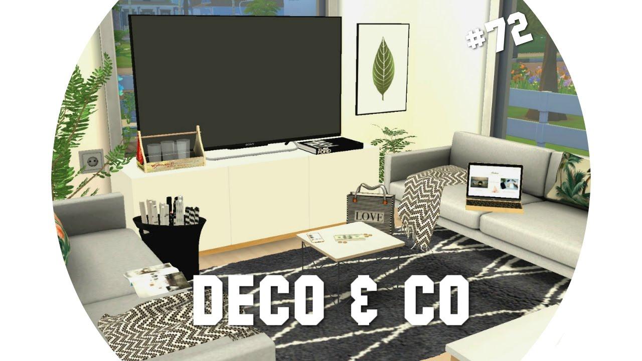 Les Sims 4 Deco Co 72 Maison Familiale Et Moderne Cc Liste