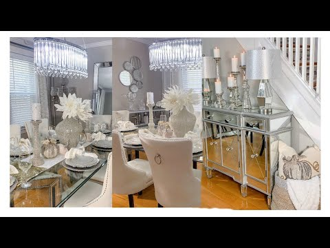GLAM DINING ROOM MAKEOVER | FALL EDITION 2019