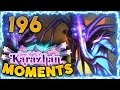 Hearthstone Karazhan Daily Funny and Lucky Moments Ep. 196 | Eater of Secrets!!