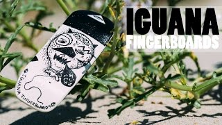 Iguana Fingerboards - Handpainted Oldschool Fingerboard Deck - Product Blog thumbnail