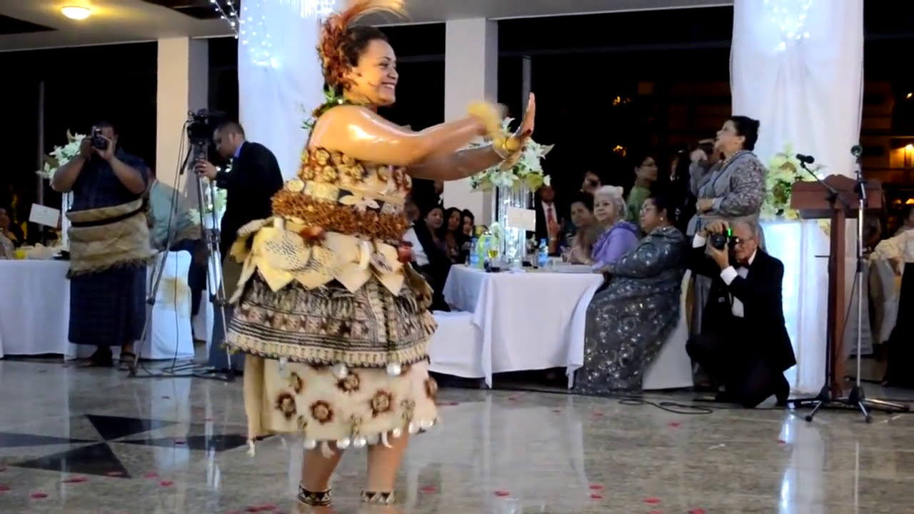Tauolunga Tongan Royal Wedding Ball YouTube